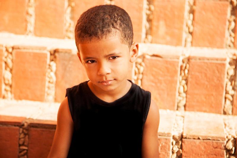 7 år gammel gutt fra Brazil