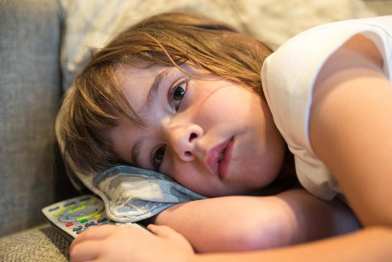 Jente 8 år som er lei seg
