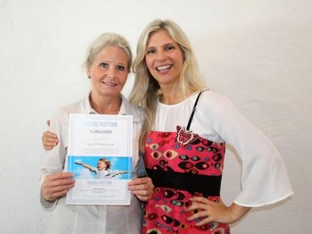 Ingrid Malene Liavik og Birgit Semundseth smiler