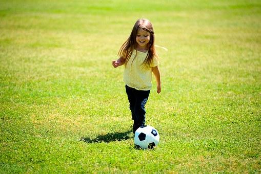 Jente fotball 6 år