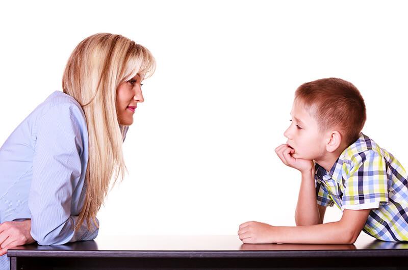 Barn med helsesøster