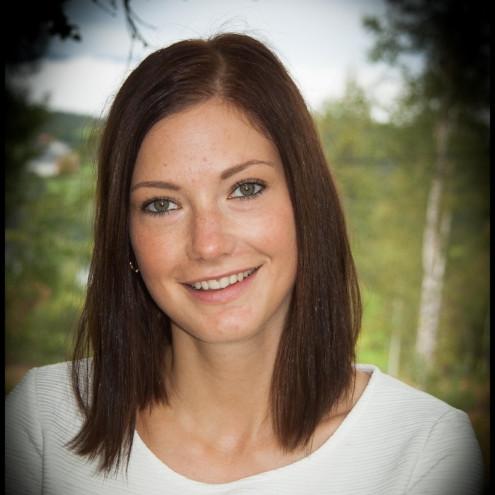 Catrine Jørandli smiler
